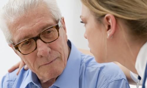 Обследование предстательной железы у врача