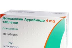 Доксазозин для лечения аденомы простаты